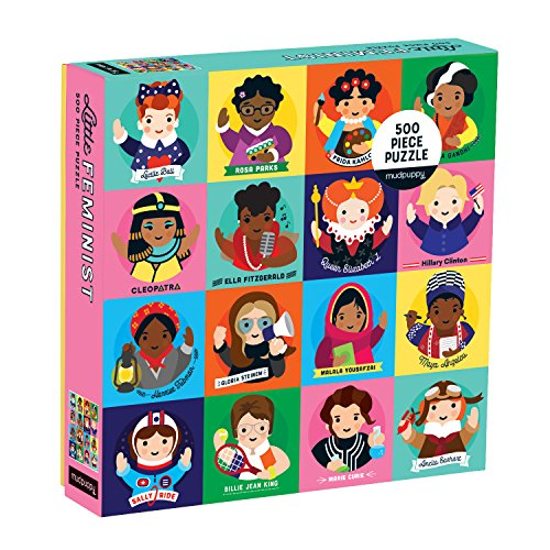Fitzgerald 20 Piece - Mudpuppy Little 500 Piece Family Puzzle , Feminists