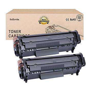 2X Compatible con El Cartucho De Tóner HP Q2612A HP12A para HP ...