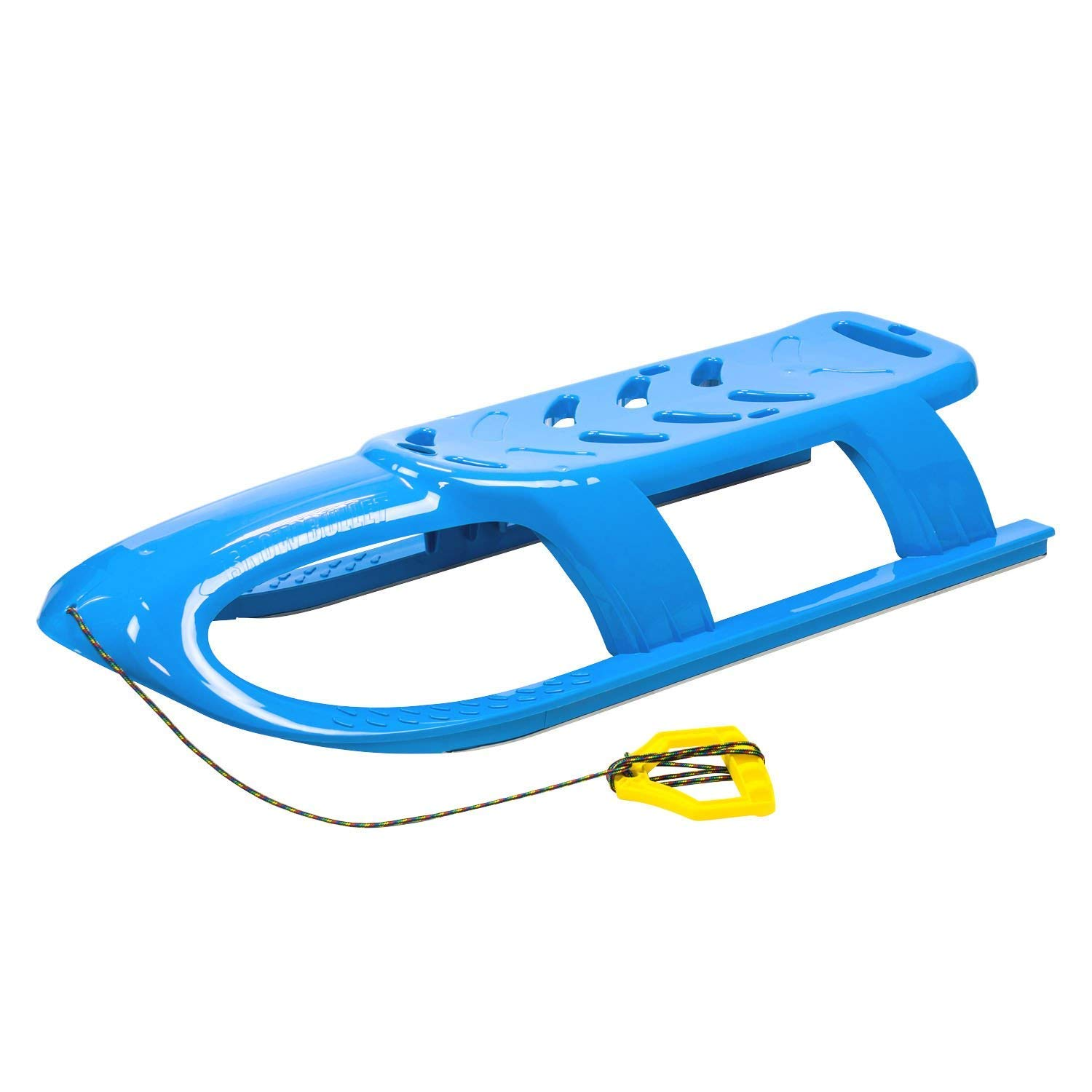 Marko Lightweight Blue Sledge with Rope Handle