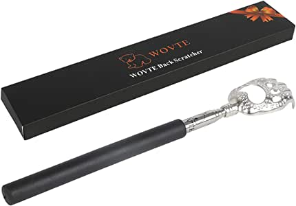WOVTE Bear Claw Black Telescopic Back Scratcher