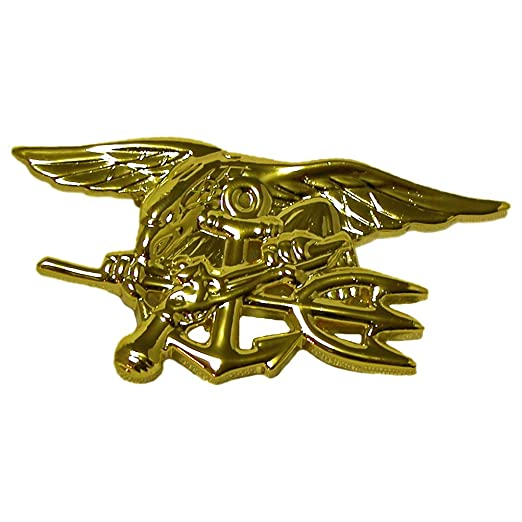 Amazon Us Navy Seal Pin Full Size Device Clothing