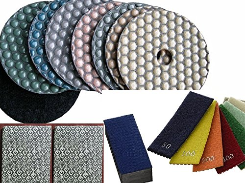 diamond-hand-polishing-pads-4-assorted-coarse-grits-diamond-dry-polishing-pads-9-pieces-glass-polish