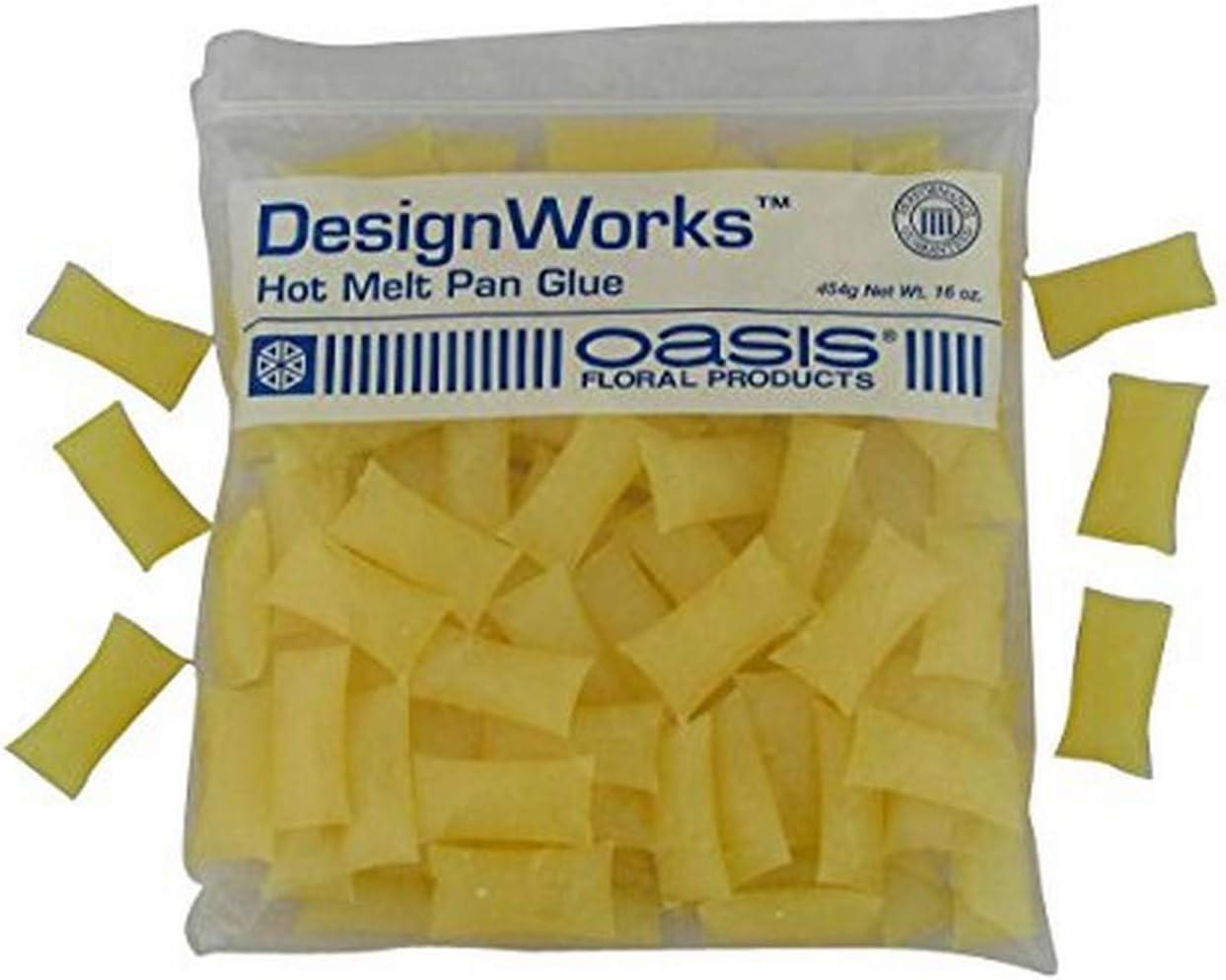 Oasis Design Works Hot Melt Glue Pillows 16 Ounce Bag