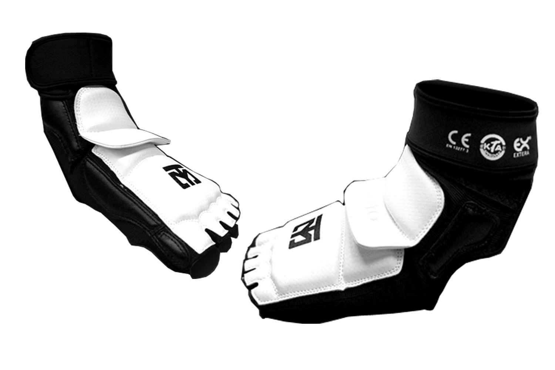 Mooto Taekwondo Foot Protector Season2 TKD Foot Gear KTA Approved XXS to XL (1.XXS) by Mooto