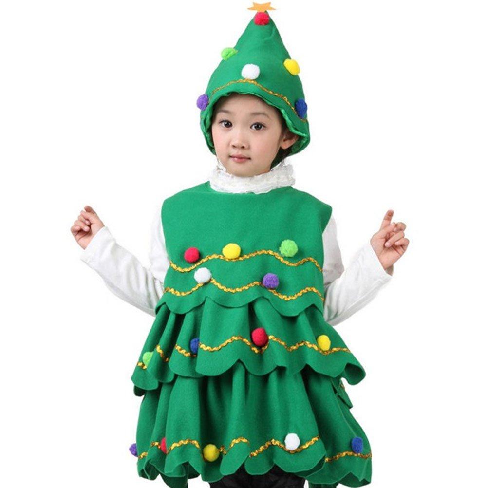 ARAUS Costume della Santa del Partito Albero di Natale Cosplay Ragazza Bimbo Vestito 2 Pezzi 1-14 Anni 5210P10