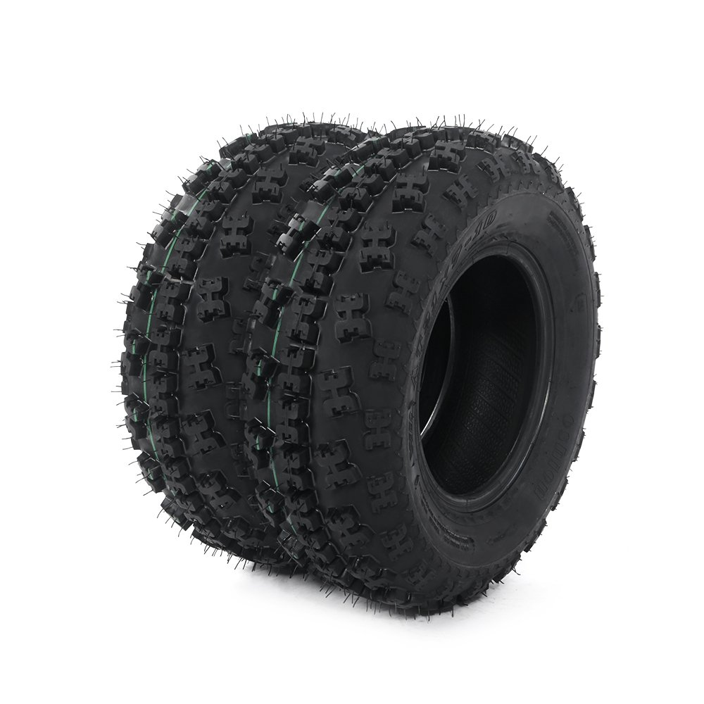 ATV Tires 21X7-10 P348 Front Wheel 4 Ply (Pack of 2)
