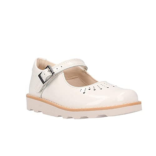5bb1ea1ef10 Clarks Girls' Crown Jump Ankle Strap Sandals: Amazon.co.uk: Shoes & Bags