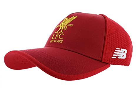 6b8e6ca61d2 Amazon.com   New Balance Liverpool FC Anniversary Cap - Red - One ...