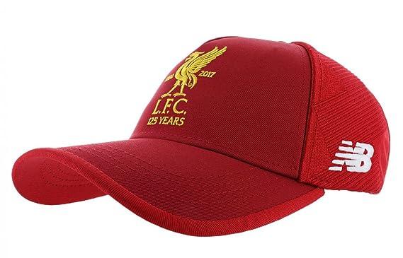 dbd3d02e517fd New Balance Liverpool FC 17/18 Anniversaire - Casquette de Foot - Rouge:  Amazon.fr: Vêtements et accessoires