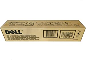 Dell GD908 5110 Toner Cartridge (Yellow) in Retail Packaging