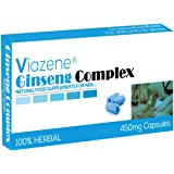 Ginseng Complex By Viazene - The New Most Effective Natural Food Supplement for Performance, Energy, Stamina and Endurance! - Best Herbal Remedy for modern men - Pack Of 10 Capsules