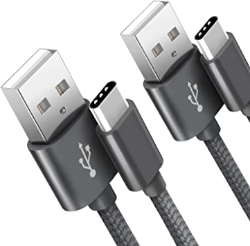 Cable USB Tipo C SUCESO Cable USB C [2PACK 2M] Carga Rápida a y ...