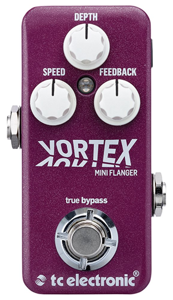 TC Electronic Vortex Mini Flanger Guitar Effect Pedal by TC Electronic