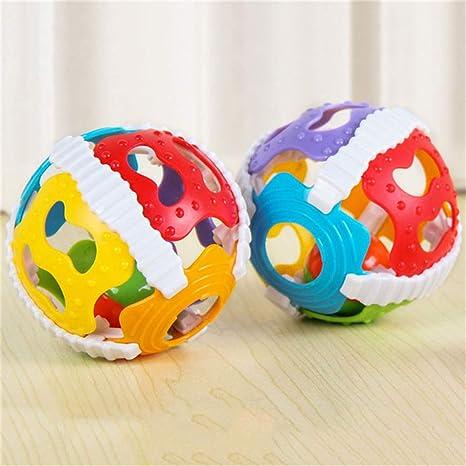 Dontdo - Pelota de juguete para bebé con luz intermitente, juguete ...