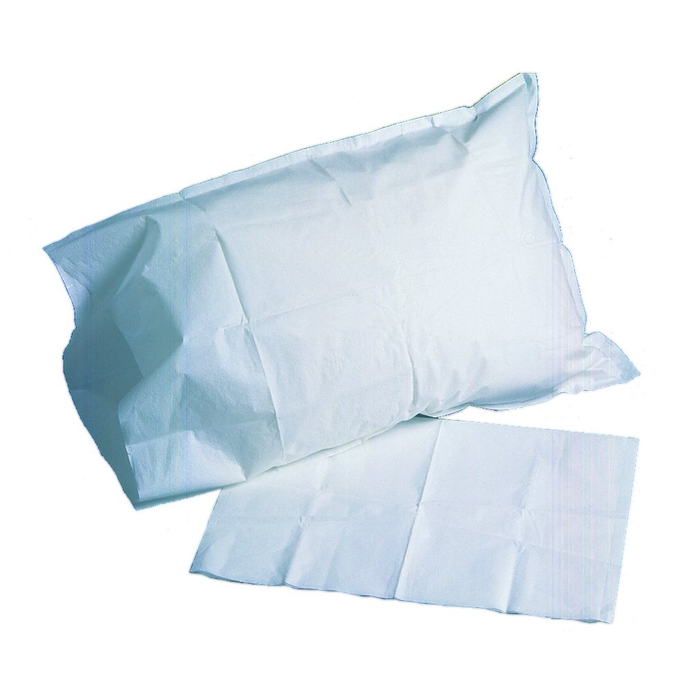 PDC Healthcare SP-363 Disposable Pillowcase, Tissue/Poly, 21'' x 30'', Blue (Pack of 100)