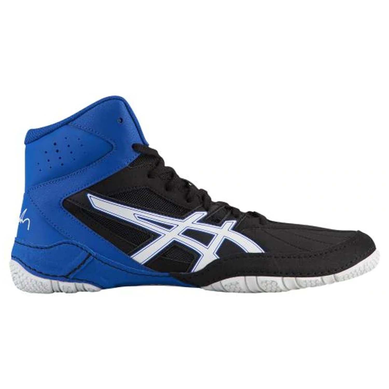 ASICS Cael V8.0 Men's Wrestling Shoes B078BB9WM1 6 D(M) US|White/Indigo Blue