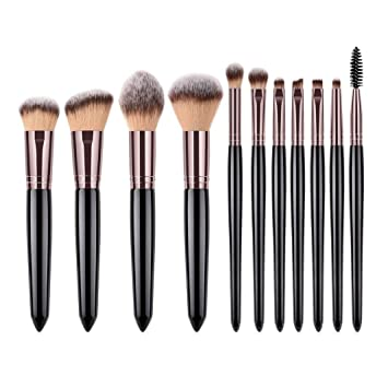 a39087003640 Amazon.com: Honhui11 pieces - pearl handle - Soft Highlight Eyebrow ...