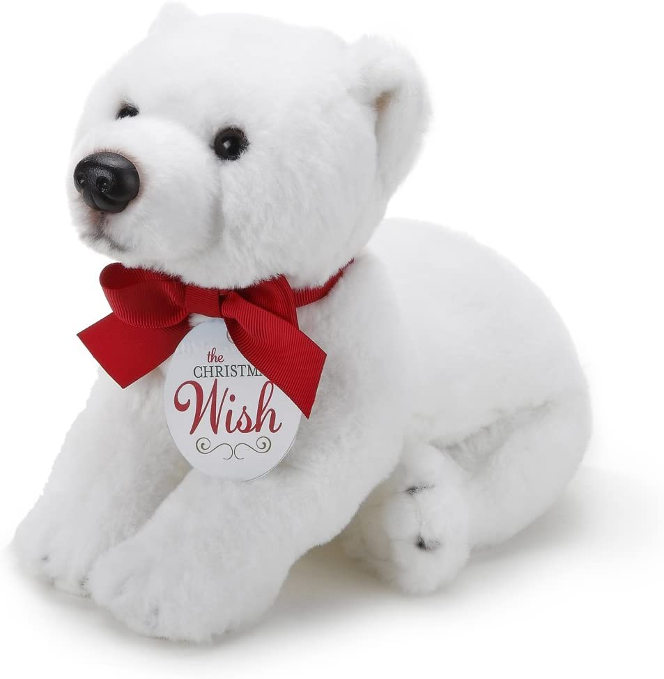 DEMDACO The Christmas Wish Polar Bear, Large