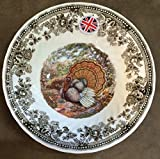 Queen's Quintessential Game Collection with Turkey Centerpiece / Set of 4 (Cereal Bowl) For Sale