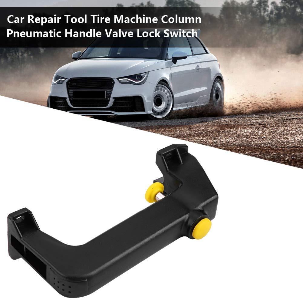 Aramox Pneumatic Valve Switch,Car Repair Tool Tire Machine Column Pneumatic Handle Valve Lock Switch