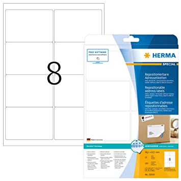 A4 Mattweiß Selbstklebend Abziehbare Klebend Adresse Drucketiketten 200 x 297