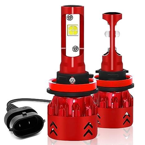 Amazon.com: Ylife - Bombillas LED para faros delanteros de ...