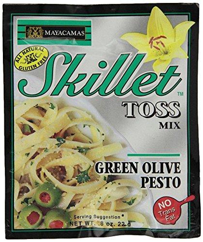 Mayacamas Green Olive Pesto Skillet Toss, 0.8 Ounce (Pack of 12) Green Pesto Pasta