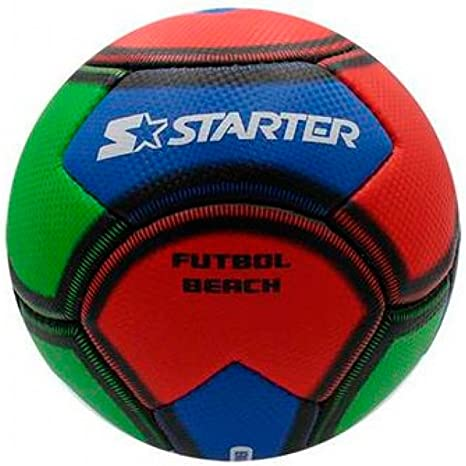 Starter 97053.757 Balón Futbol Playa, Blanco, S: Amazon.es ...