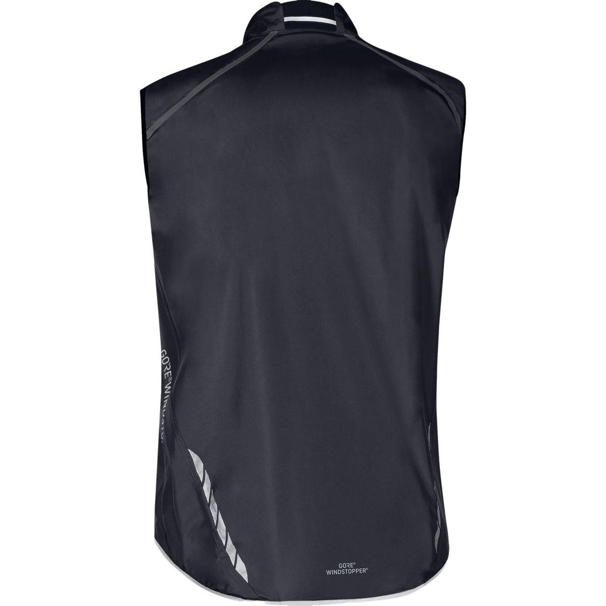 GORE BIKE WEAR, Men´s, Road cyclist vest, No sleeves, Ultra-lightweight and compact, GORE WINDSTOPPER, OXYGEN WS AS Light, Size S, Black, VWAOXY