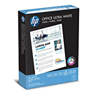 HP Printer Paper, Office20, 8.5 x 11, Letter, 92 Bright, 500 Sheets/1 Ream (172160R) Made In The USA