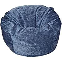 Ahh! Products Navy Chenille Washable Large Bean Bag Chair
