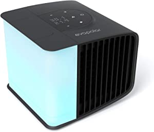 Evapolar EvaSMART Personal Evaporative Air Cooler, Purifier and Humidifier, Portable Air Conditioner EV-3000 with Alexa support - Coal Black