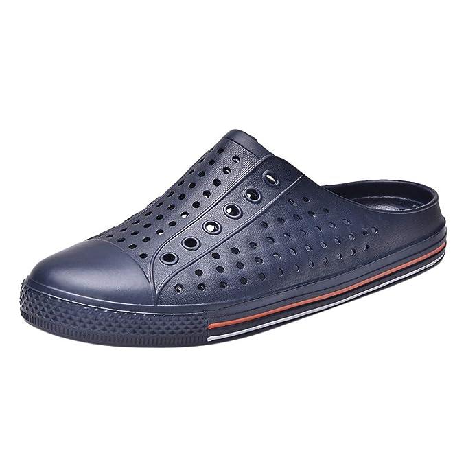 Sandalias para Pareja SUNNSEAN Huecos Suaves Transpirable Antideslizante Luz Zapatillas Verano Casuales Cómodos Zapatos de Playa: Amazon.es: Ropa y ...