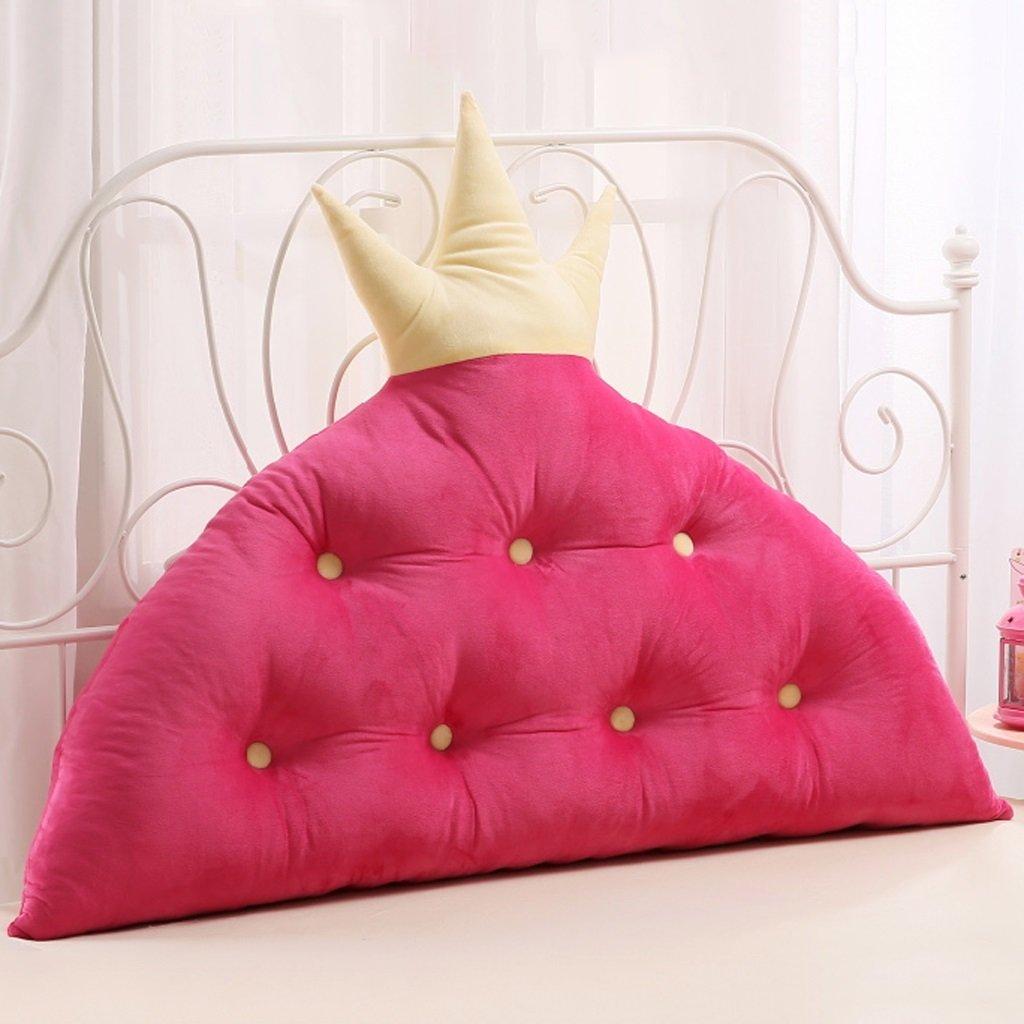 WOFULL I Cuscini Morbidi del sofà del sofà dei Bambini la Stanza della Principessa Grandi Cuscini Posteriori, Lavabile smontabile (colore   1 , Dimensioni   120cm)