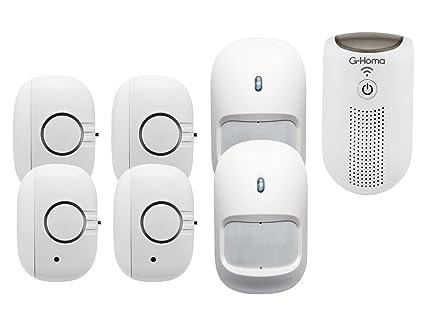 Wifi Sistema de alarma/alarma doméstica con detector de movimiento + App