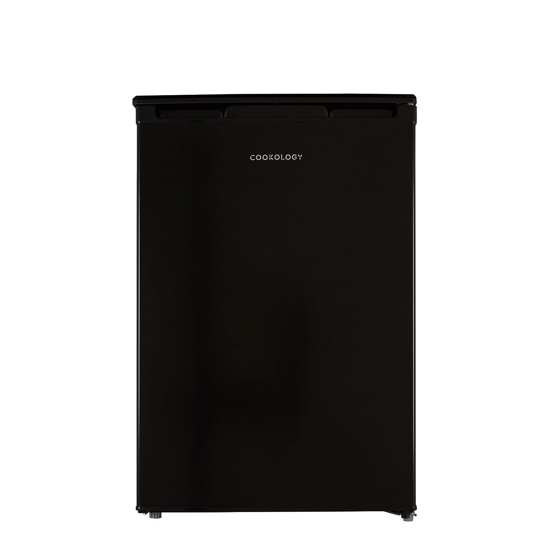 Cookology UCFZ86BK 55cm Freestanding Undercounter Freezer in Black, 86 Litre [Energy Class A+]