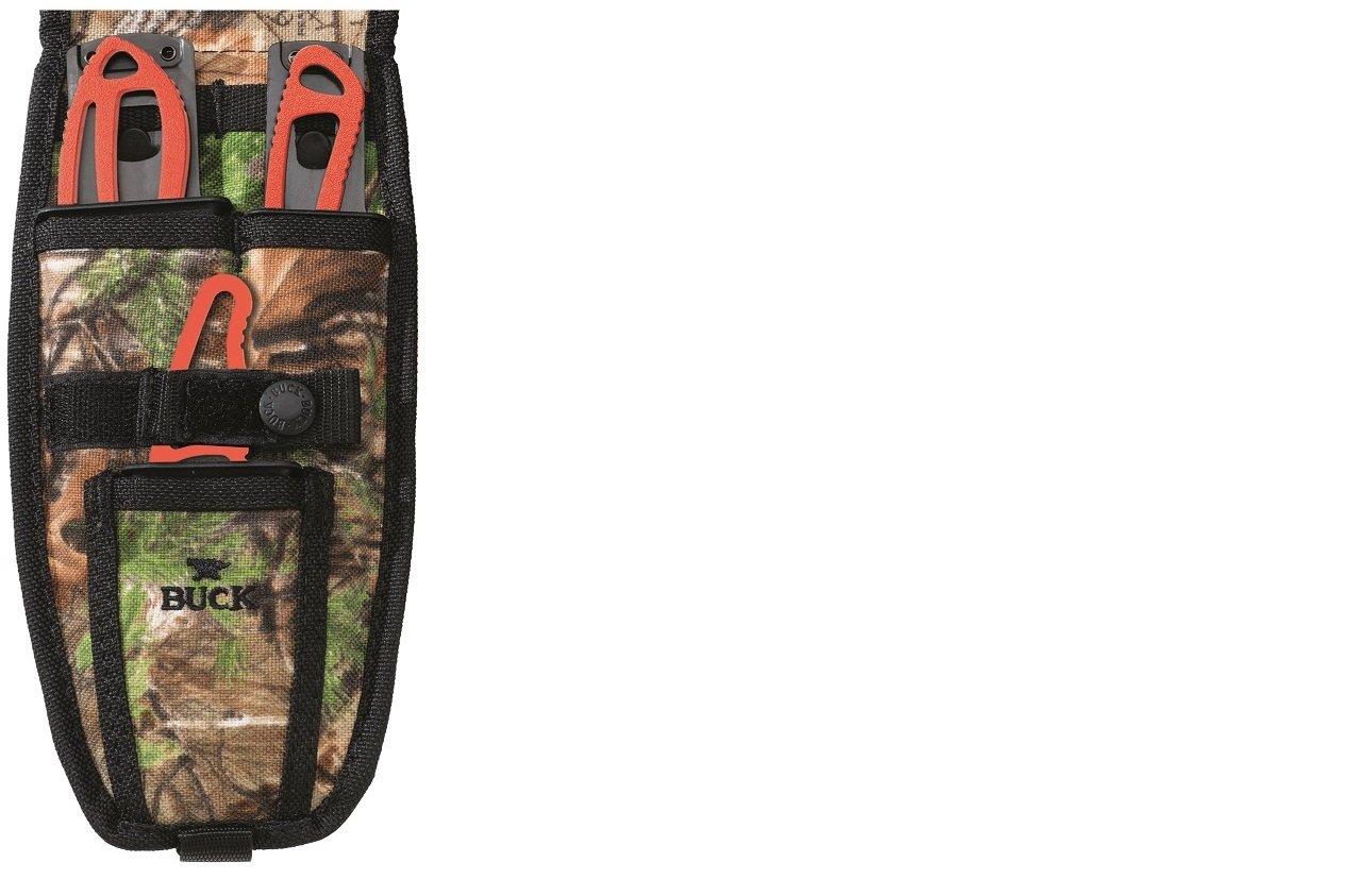 Buck 0141ORSVP2-B PakLite Field Master Kit Fixed Blade Knife, Orange