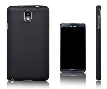 Xcessor Vapour Funda Carcasa de TPU Gel Flexible Para Samsung Galaxy Note 3. Negro