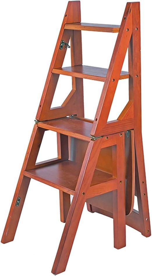 Escaleras plegables Cuatro pasos escalera silla cuatro plegable ...