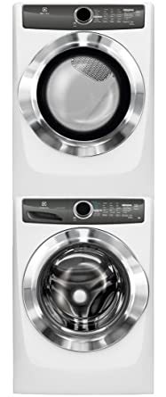 Amazon electrolux white front load laundry pair with electrolux white front load laundry pair with efls517siw 27quot washer efme517siw 27quot electric sciox Choice Image
