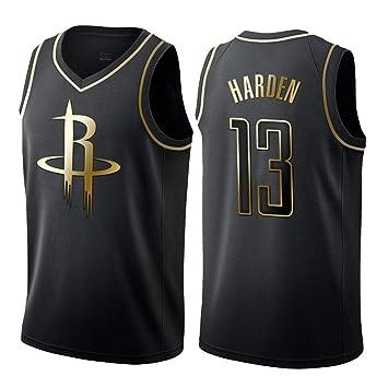 CCKWX Camiseta De Hombre Y Mujer 13# Rockets Harden All-Star, Tela Transpirable Fresca Sin Mangas Clásica, Camiseta De Baloncesto para Hombres Y ...