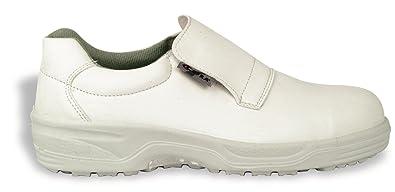 Cadmo Cofra Safety Schuhe S2 SRC Kitchen Work shoe Weiß Hospital Kitchen SRC ... 63921d