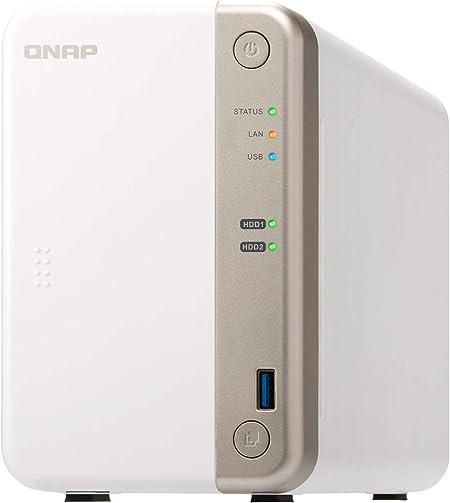 Qnap Ts 251b 4g Desktop Nas Lösung Mit 8 Tb Und 2 Computer Zubehör
