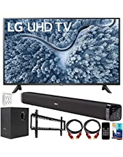 $569 » LG UP7000PUA 43 Inch Series 4K Smart UHD TV (2021) Bundle with Deco Gear Home Theater Soundbar with Subwoofer, Wall Mount Accessory Kit, 6FT 4K HDMI 2.0 Cables and More