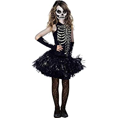 e2ac57d2b4 Amazon.com  Cutie Bones Child Costume  Clothing