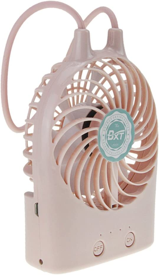 JINTN New Fashion Mini USB Rechargable Handheld Fan Portable Small Personal Fan Electric Cooling Cooler for Student Dorm Home Office Battery Operated Desktop Fan