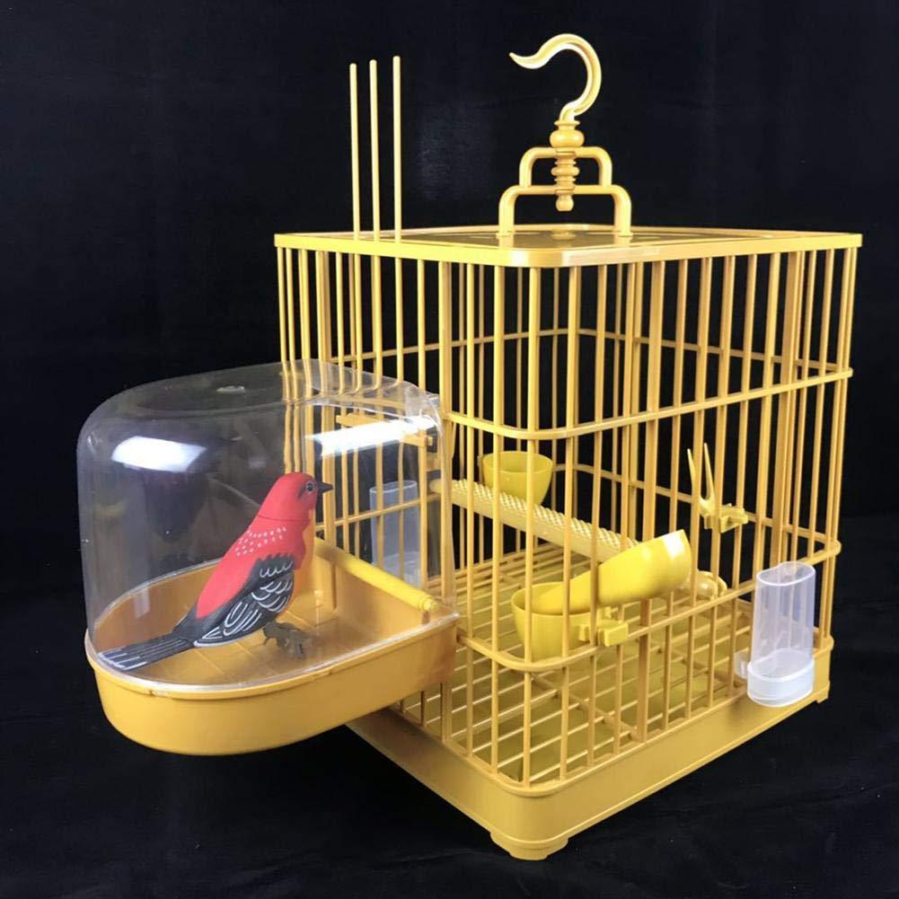 decaden Bañera para Accesorios de Jaula de Pájaros para Pájaros ...