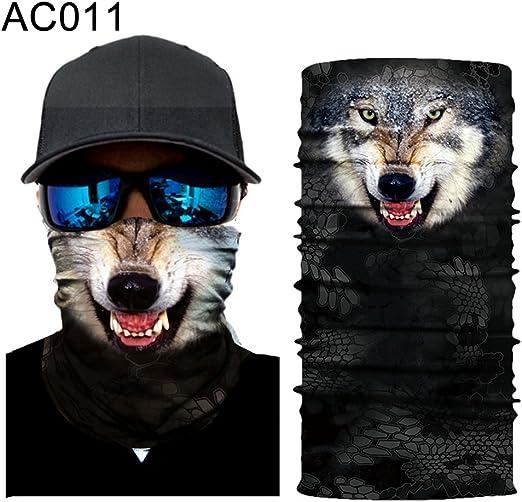 Face Mask Sun Shield Neck Gaiter Balaclava Neckerchief Bandana  Headband Sports