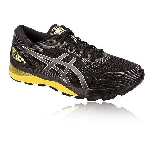 ASICS Gel-Nimbus 21 Running Shoe- SS19-12.5 Black: Amazon.co.uk ...