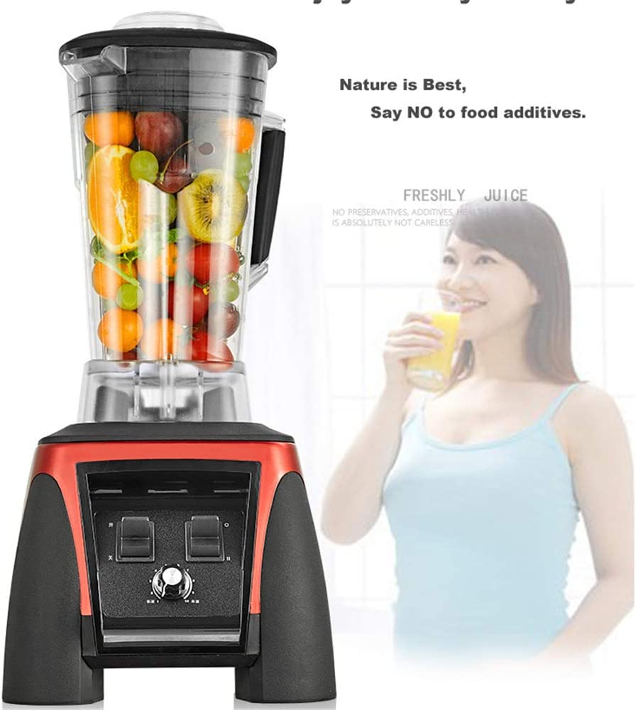 ZHOUHUAW Countertop Blender with 2200-Watt Auto-iQ Base, for Smoothies, Ice and Frozen Fruit, Total Crushing Technology